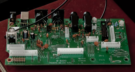 M-Audio Axiom 61 Mainboard Replacement « praxworld com