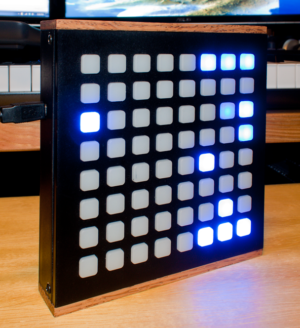 Our first monome enclosure kit prototype!